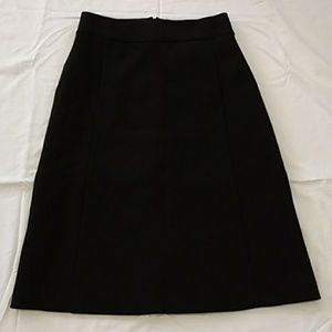 Kate Spade Skirt the Rules Twee Black Skirt Size 0